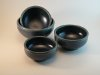 "Thumbnail: Condiment Bowl;  Color: Blue, Green, Oatmeal;  Size: 4"" x 4"" x 1.5""  $8.00 each."